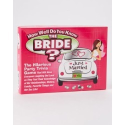 Do You Know the Bride Bachelorette Party Game by Spencer's