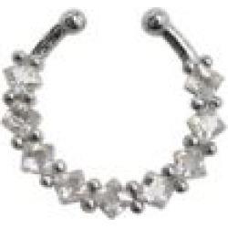 CZ Fake Septum Ring by Spencer's