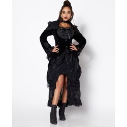 Women's Victorian Vampire Jacket - Size Adult Small - by Spencer's