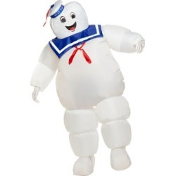 Adult Stay Puft Inflatable Costume - Ghostbusters Classic - ONE SIZE FITS MOST - by Spencer's found on Bargain Bro from spencers gifts for USD $41.79