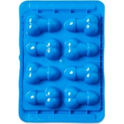 'Blue Balls' Penis and Ball Shaped Ice Cube Tray by Spencer's