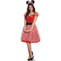 Adult Minnie Mouse Costume Deluxe - Disney by Spirit Halloween found on Bargain Bro India from SpiritHalloween.com for $49.99