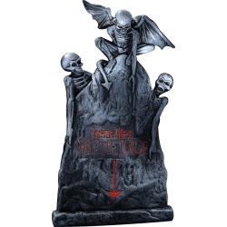20 Inch Beetlejuice Tombstone by Spirit Halloween found on Bargain Bro from SpiritHalloween.com for USD $15.19