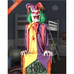 4 Ft Chester the Jester Animatronics - Decorations by Spirit Halloween found on Bargain Bro from SpiritHalloween.com for USD $136.79