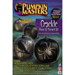 Crackle Paint and Stencil Kit by Spirit Halloween