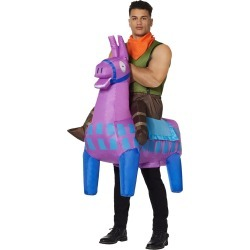 Fortnite Men's Giddy Up Inflatable Costume - Fortnite by Spirit Halloween
