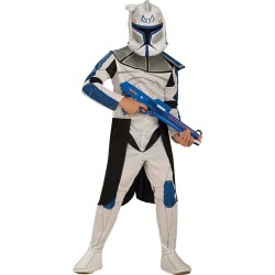 Kid's Clone Trooper Captain Rex Costume - Star Wars Clone Wars by Spirit Halloween