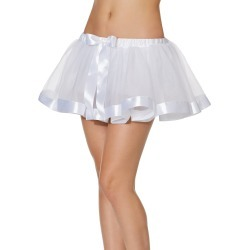 White Ribbon Tutu by Spirit Halloween