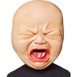 Big Head Crying Baby Mask