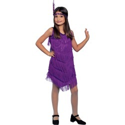 Purple Flapper Child Costume by Spirit Halloween