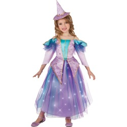 Kid's Light Up Lavender Witch Costume by Spirit Halloween found on Bargain Bro India from SpiritHalloween.com for $32.99