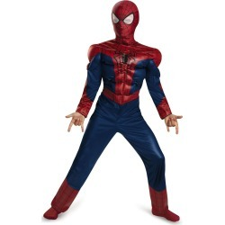 Kid's Muscle Spider-Man 2 Costume - Marvel by Spirit Halloween