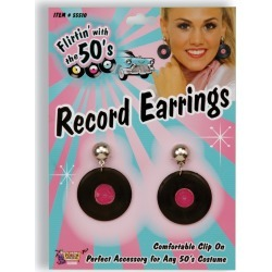Record Earrings by Spirit Halloween