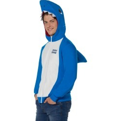 Men's Daddy Shark Costume Hoodie - Baby Shark by Spirit Halloween