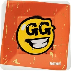 Fortnite Party Supplies - Loot Llama GG Party Plates 8 Pack – Fortnite by Spirit Halloween