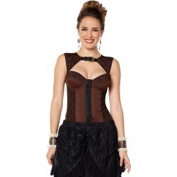 Steampunk Flock Top by Spirit Halloween found on Bargain Bro India from SpiritHalloween.com for $32.99