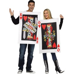 Men's King and Queen of Hearts Couples Costume by Spirit Halloween