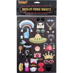 Dress Up Fridge Magnets by Spirit Halloween found on Bargain Bro from SpiritHalloween.com for USD $6.07