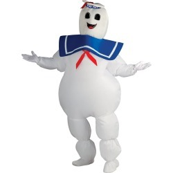 Adult Inflatable Stay Puft Marshmallow Man Costume - Ghostbusters by Spirit Halloween found on Bargain Bro from SpiritHalloween.com for USD $45.59