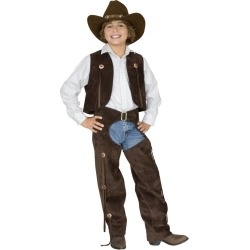 Cowboy Chaps and Vest Child Costume by Spirit Halloween
