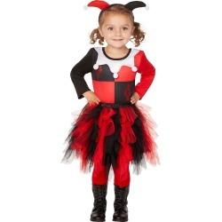 Toddler Harley Quinn Dress - DC Comics by Spirit Halloween found on Bargain Bro from SpiritHalloween.com for USD $22.79