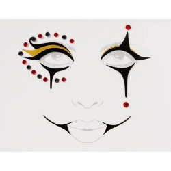Ringmaster Face Decal by Spirit Halloween found on Bargain Bro India from SpiritHalloween.com for $5.99