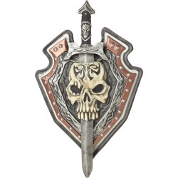 Overlord Shield and Sword by Spirit Halloween
