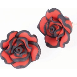 Day of the Dead Rose Earrings by Spirit Halloween