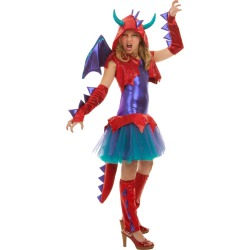 Dragon Shrug Set Tween Costume by Spirit Halloween