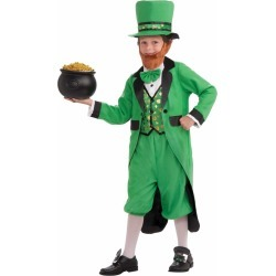 Kid's Mr. Leprechaun Costume by Spirit Halloween found on Bargain Bro India from SpiritHalloween.com for $29.99