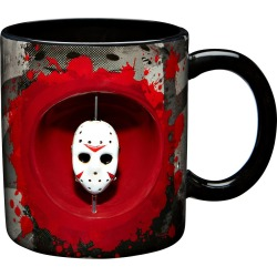 Spinner Jason Friday the 13th Coffee Mug - 20 oz. by Spirit Halloween