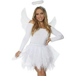 Angel Costume Kit by Spirit Halloween found on Bargain Bro India from SpiritHalloween.com for $24.99