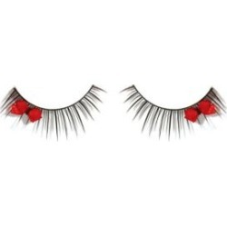 Red Bow False Eyelashes by Spirit Halloween found on MODAPINS from SpiritHalloween.com for USD $5.99