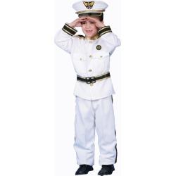 Navy Admiral Child Costume by Spirit Halloween