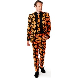 Adult Jack-O-Lantern Suit by Spirit Halloween found on Bargain Bro India from SpiritHalloween.com for $59.99