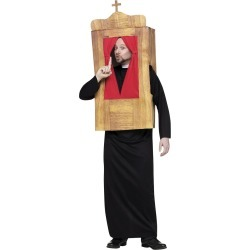 Confessional Men's Mens Costume by Spirit Halloween