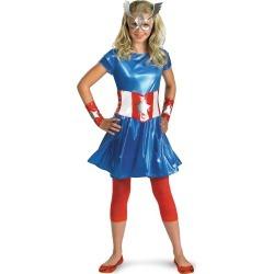 Captain America Tween Costume by Spirit Halloween