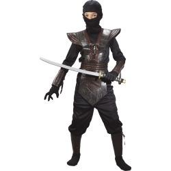 Kid's Brown Leather Ninja Costume by Spirit Halloween