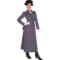 Adult English Nanny Costume by Spirit Halloween