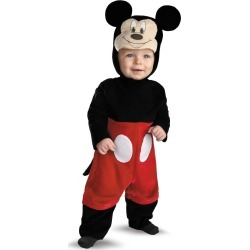Baby Tailed Mickey Mouse Costume - Disney by Spirit Halloween found on Bargain Bro India from SpiritHalloween.com for $32.99