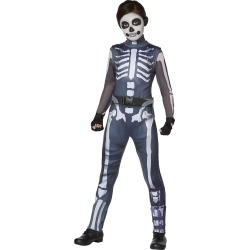 Fortnite Girls Skull Ranger Costume - Kids Fortnite Costumes by Spirit Halloween