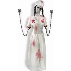 Convulsing Nurse Animated Decoration by Spirit Halloween