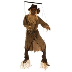 Animated Hanging Swinging Scarecrow by Spirit Halloween found on Bargain Bro from SpiritHalloween.com for USD $75.99