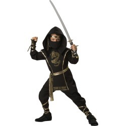 Ninja Warrior Deluxe Boys Costume by Spirit Halloween