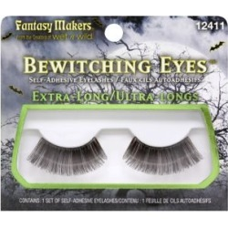Extra Long False Eyelashes by Spirit Halloween found on MODAPINS from SpiritHalloween.com for USD $5.99