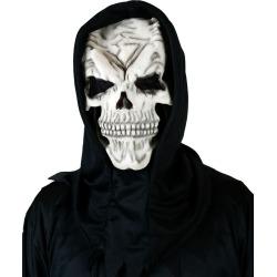 Hooded Skull Mask by Spirit Halloween