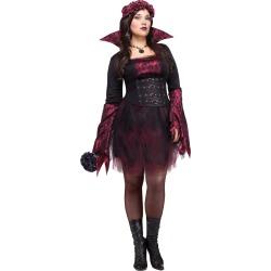 Adult Gothing Rose Vampire Plus Size Costume by Spirit Halloween