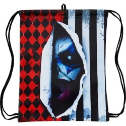 Scary Clown Cinch Bag by Spirit Halloween found on Bargain Bro India from SpiritHalloween.com for $9.99