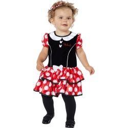 Baby Minnie Mouse Dress - Disney by Spirit Halloween found on Bargain Bro India from SpiritHalloween.com for $24.99