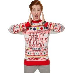 Merry Christmas Ya Filthy Animal Ugly Christmas Sweater - Home Alone by Spirit Halloween
